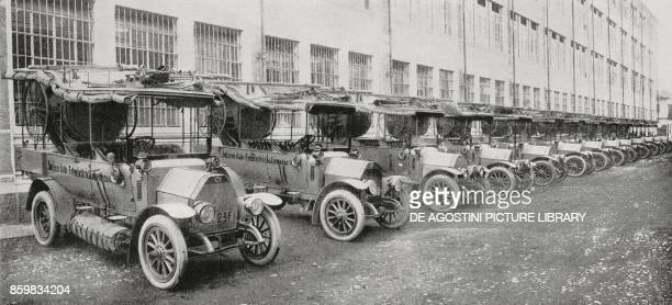 Photoelectric cars from c / m 90 on model chassis 15 / ter supplied by FIAT to the Italian Government Italy from L'Illustrazione Italiana Year XLII...