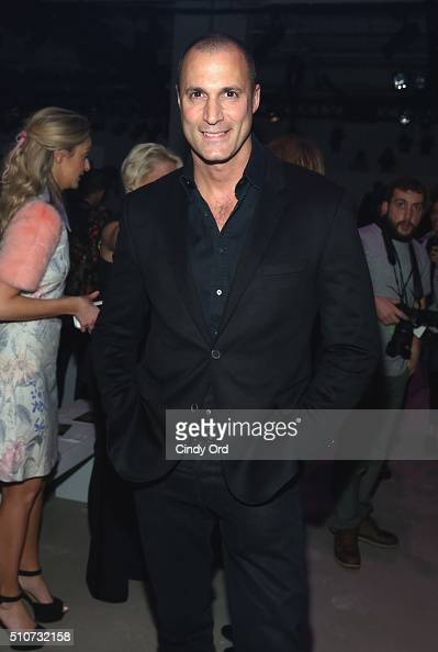 Photograpger Nigel Barker attends the Georgine Fall 2016 fashion show during New York Fashion Week The Shows at The Gallery Skylight at Clarkson Sq...