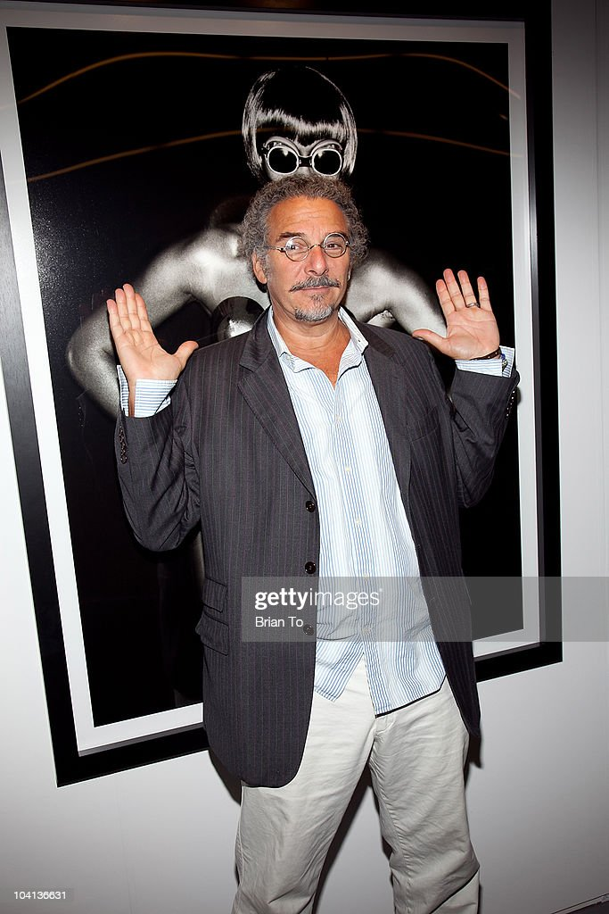 Photograpgher Jeff Dunas attends the opening night reception of 'Greg Gorman: A Distinctive Vision 1970-2010' at Pacific Design Center on September 15, 2010 in West Hollywood, California.