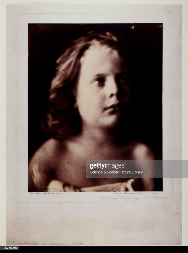 Photograph by Julia Margaret Cameron from a series of �lifesized heads� Freddy Gould was the son of a sailor at Freshwater in the Isle of Wight where...