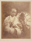 Photograph by Julia Margaret Cameron of Alamayou the son of King Theodore of Abyssinia Alamayou was an orphan who was brought to live in England...