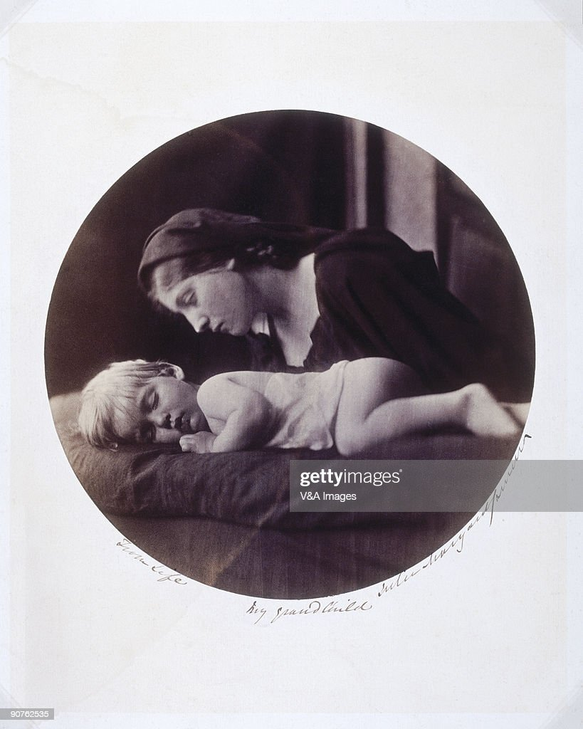 Photograph by Julia Margaret Cameron of Archie aged 2 years and 3 months Archie was the son of Cameron's eldest son Eugene Hay Cameron and his wife...