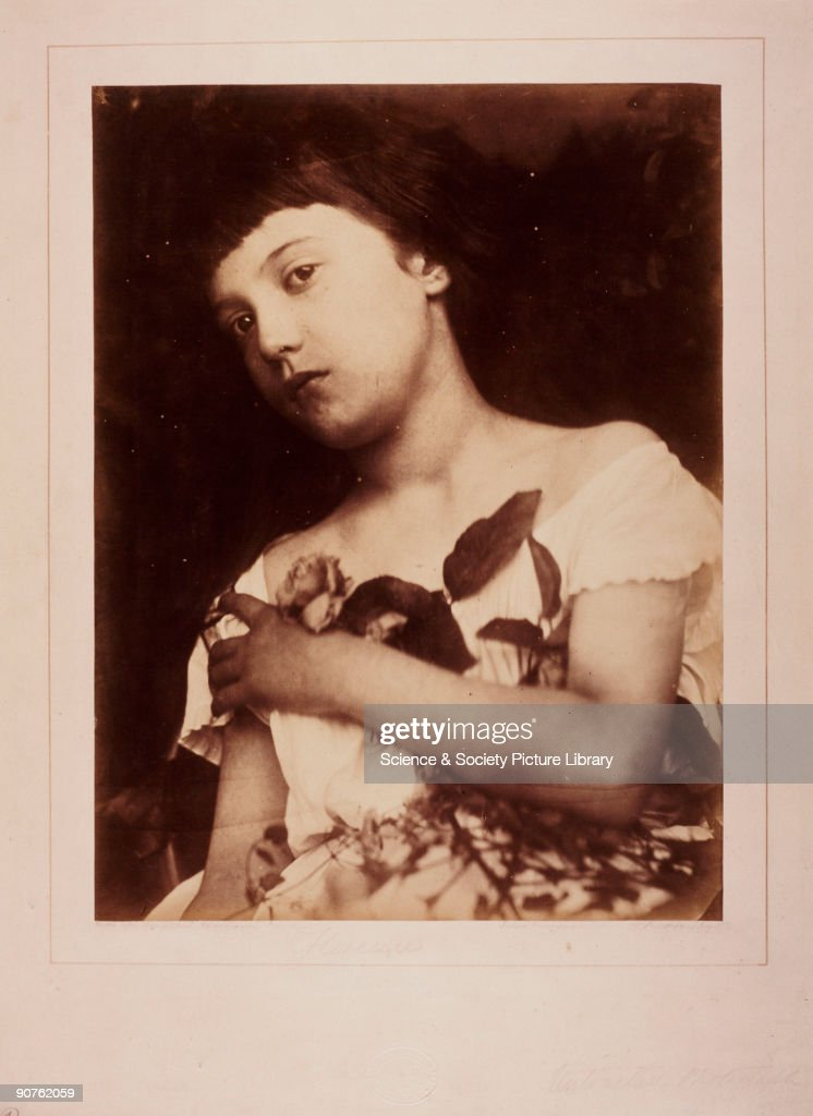 Photograph by Julia Margaret Cameron of her great niece Cameron's photographic portraits are considered among the finest in the early history of...