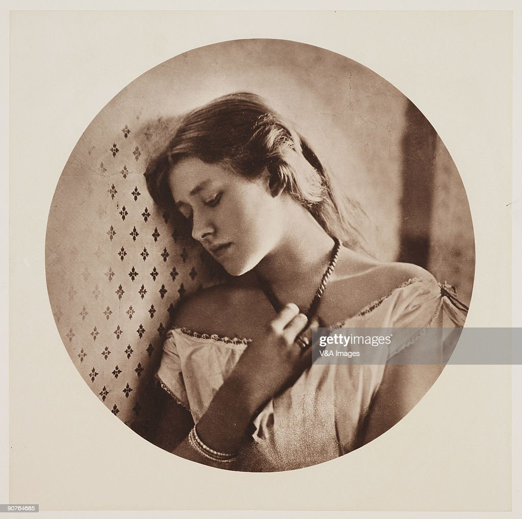 Photograph by Julia Margaret Cameron of the British actress Ellen Terry Cameron's photographic portraits are considered among the finest in the early...