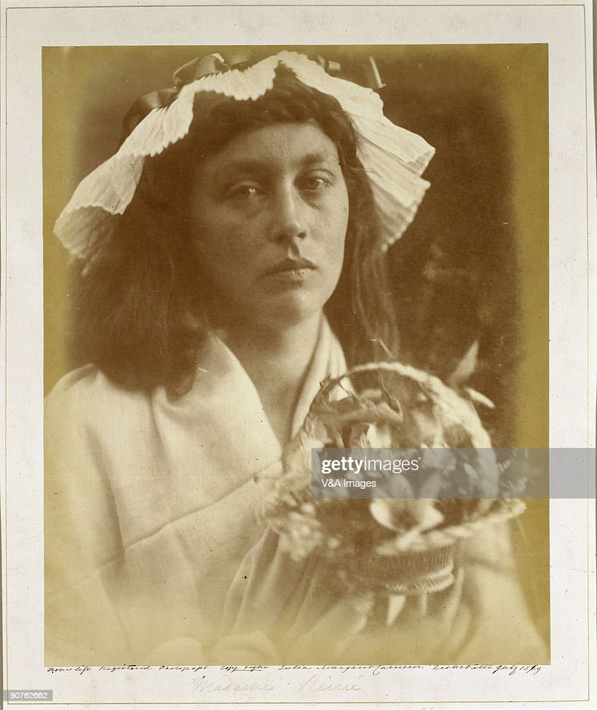 Photograph by Julia Margaret Cameron whose photographic portraits are considered among the finest in the early history of photography She set up a...