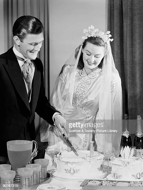 A photograph by Photographic Advertising Limited Romantic images proved popular in the Photographic Advertising archive This photograph of a wedding...