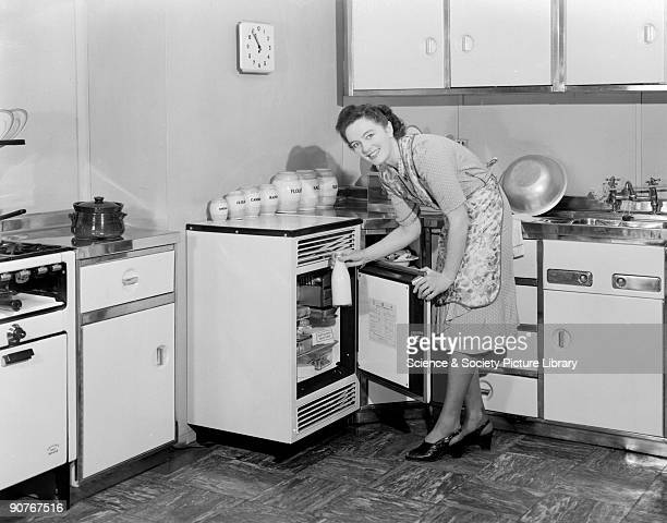 A photograph by Photographic Advertising Limited taken in the studio kitchen It was used by advertising companies in Holland and New Zealand The...