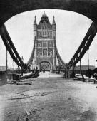 Photograph by Russell and Sons printed in the Illustrated London News showing Tower Bridge London The Bridge was opened by the Prince of Wales in...