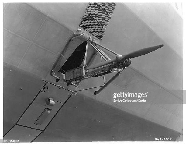 Photograph of a propeller on a dirigible 1933 Image courtesy National Archives