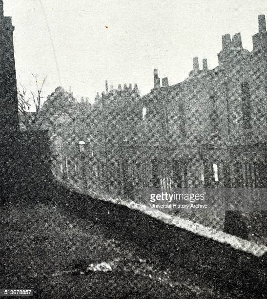 Photograph of a Street in Bethnal Green a district in East London England and part of the London Borough of Tower Hamlets The parish became the...