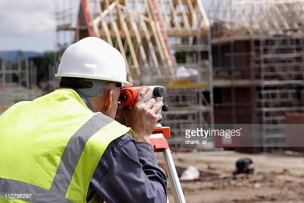 photograph of a surveyor