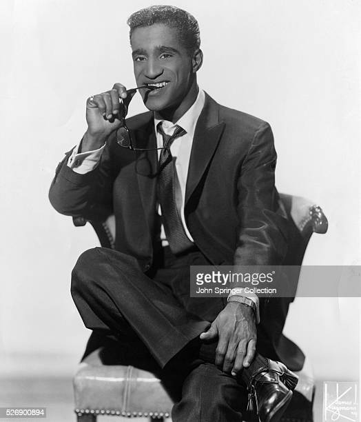 Photograph of American entertainer Sammy Davis Jr Undated photograph