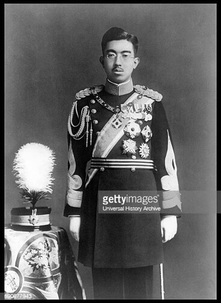 Photograph of Emperor Showa Emperor of Japan also known as Hirohito in Dress Uniform Dated 1935