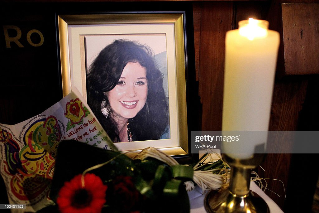 A photograph of Jill Meagher is seen during a Memorial Service for the murdered journalist at St. Peter's Church on October 5, 2012 in Drogheda, Ireland. Mrs Meagher, 29, from County Louth was murdered after a night out in Melbourne, Australia, last month.