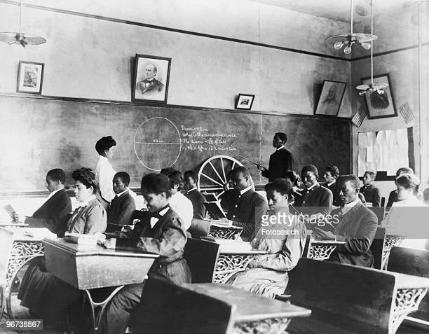 tuskegee institute girls Dr booker taliaferro washington founder and first president of tuskegee normal and industrial institute boys also studied farming and dairying, while girls.