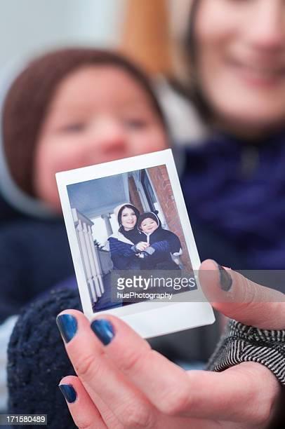 Photo d'une mère et son enfant