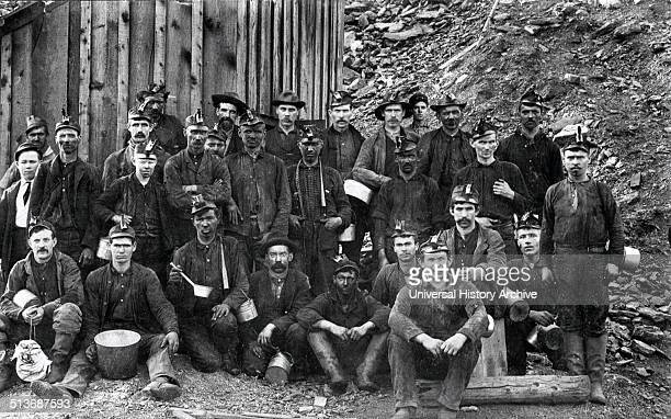 Photograph of Pittsburgh coal miners Dated 1900