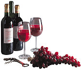Photograph of red wine