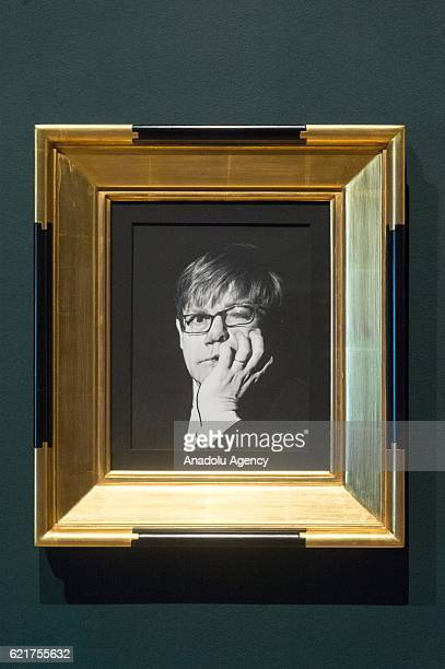 Photograph of Sir Elton John by photographer Irving Penn on November 08 2016 in London England The photograph is part of the Modernist photography...