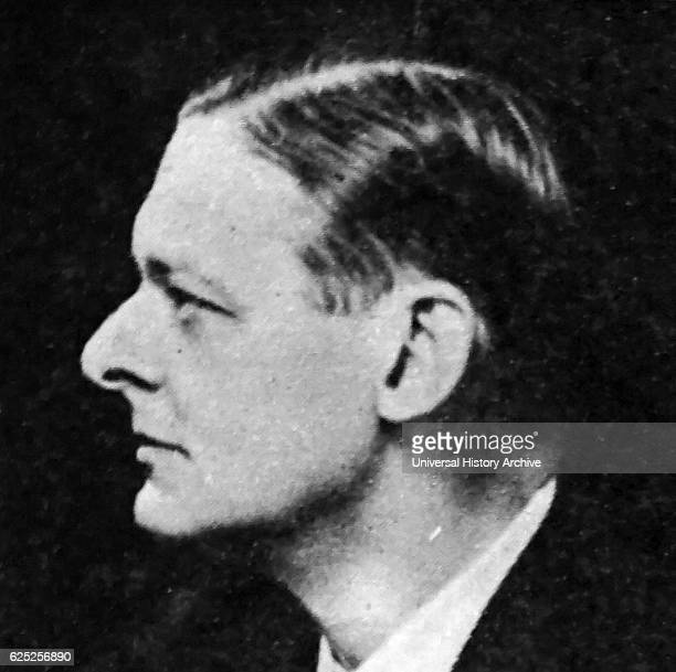 Photograph of T S Eliot a British essayist publisher playwright literary and social critic Dated 20th Century
