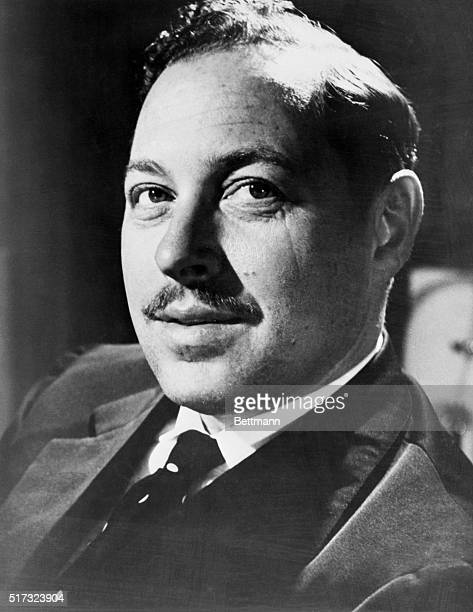 Photograph of Tennessee Williams American playwright Undated photo