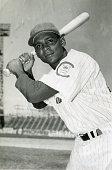 Photograph of the famous Cuban and Major League infielder for the Cuban Sugar Kings is taken at Cerro Stadium Havana Cuba 1956