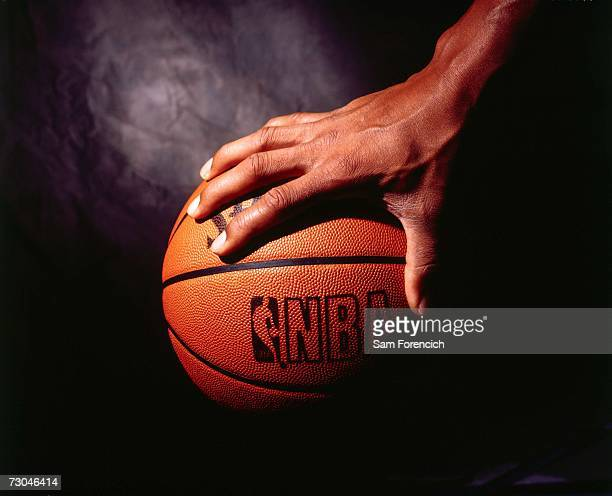 Photograph of the Spalding issued official NBA basketball circa 1994 NOTE TO USER User expressly acknowledges that by downloading and or using this...