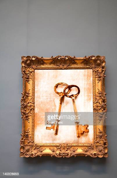 Photograph of two keys.