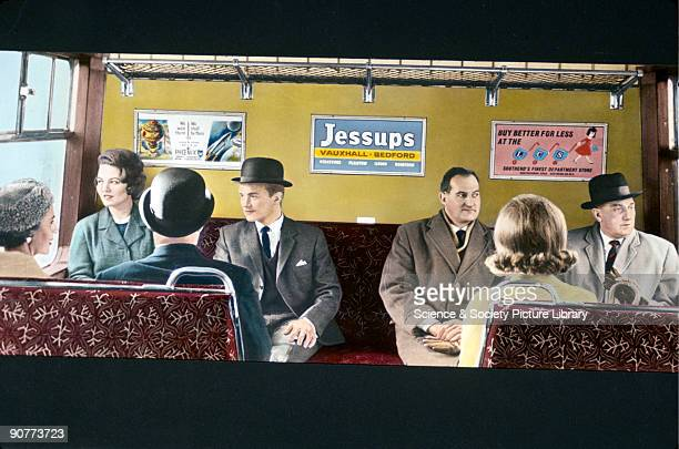 Photograph taken during the British Transport Films production 'London's Millions' made in 1965