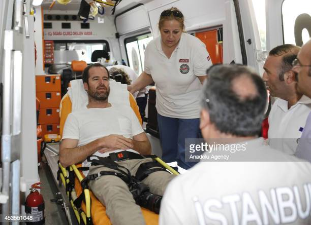Photographer Adam Ferguson and New York Times reporter Alissa J Rubin injured in a helicopter crash in Sinjar have been transferred to Istanbul...