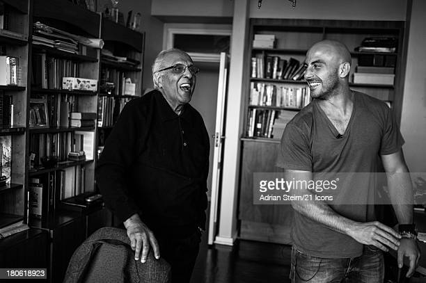 Photographer Adrian Steirn is pictured on location with Ahmed Kathrada on November 21 2011 in Johannesburg South Africa Inspired by Nelson Mandela 21...