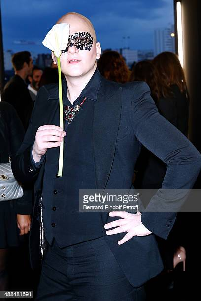 Photographer Ali Mahdavi attends the Cocktail for the discovery of new fragrance 'Black Opium' by Yves Saint Laurent on May 6 2014 in Paris France