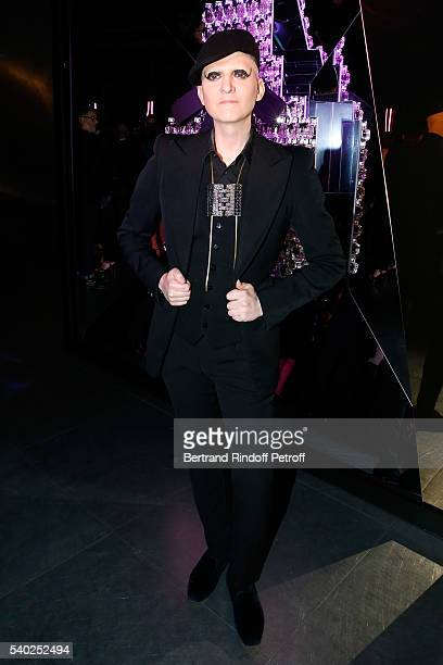 Photographer Ali Mahdavi attends YSL Beauty launches the new Fragrance 'Mon Paris' at Cafe Le Georges on June 14 2016 in Paris France
