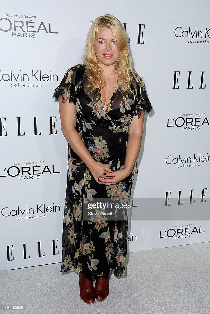 Photographer Amanda de Cadenet arrives at ELLE's 19th Annual Women In Hollywood Celebration at the Four Seasons Hotel on October 15, 2012 in Beverly Hills, California.