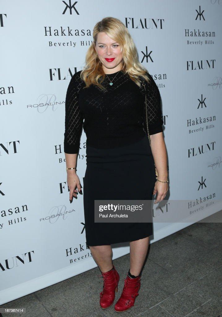 Photographer Amanda de Cadenet attends Flaunt magazine En Garde! issue launch party on November 7, 2013 in Beverly Hills, California.