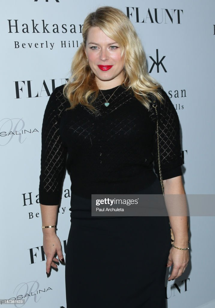 Photographer Amanda de Cadenet attends Flaunt magazine En Garde! issue launch party on November 7, 2013 in Beverly Hills, California.