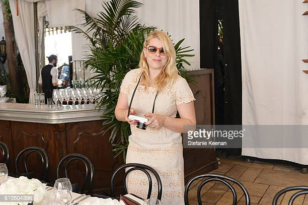 Photographer Amanda de Cadenet attends NETAPORTER Celebrates Women Behind The Lens at Chateau Marmont on February 26 2016 in Los Angeles California