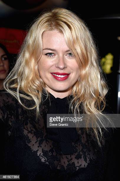 Photographer Amanda de Cadenet attends the premiere of Lionsgate's 'Mortdecai' at TCL Chinese Theatre on January 21 2015 in Hollywood California