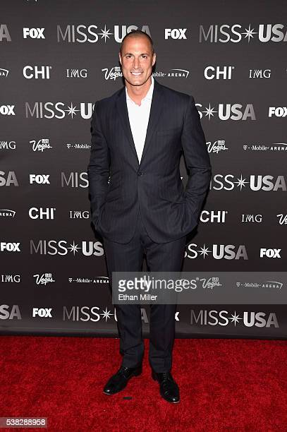 Photographer and pageant judge Nigel Barker attends the 2016 Miss USA pageant at TMobile Arena on June 5 2016 in Las Vegas Nevada