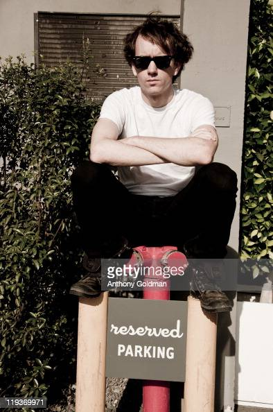 Photographer and reality tv personality Tyler Shields is photographed for Self Assignment on June 28 2011 in Los Angeles California