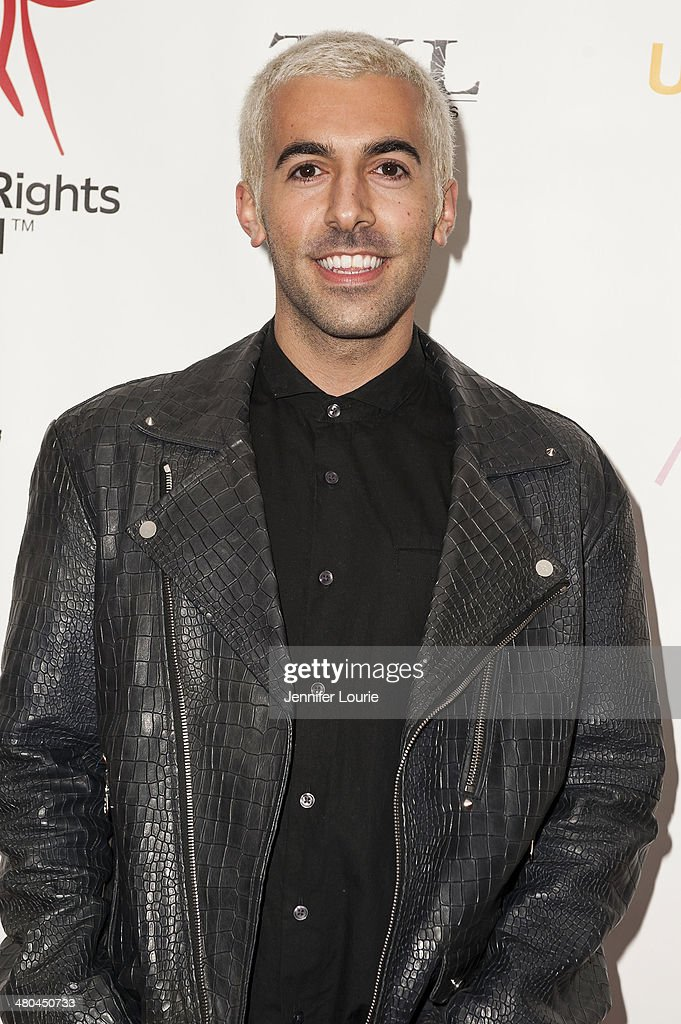 Photographer Angelo Kritikos attends the Youth For Human Rights International Celebrity Benefit Event hosted at the Beso on March 24, 2014 in Hollywood, California.