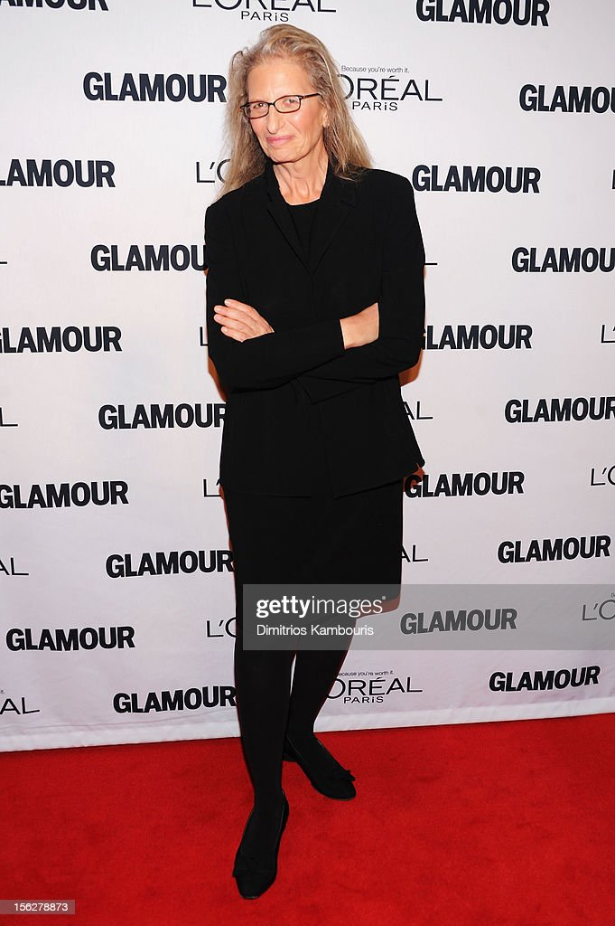 Photographer <a gi-track='captionPersonalityLinkClicked' href=/galleries/search?phrase=Annie+Leibovitz&family=editorial&specificpeople=549168 ng-click='$event.stopPropagation()'>Annie Leibovitz</a> attends the 22nd annual Glamour Women of the Year Awards at Carnegie Hall on November 12, 2012 in New York City.