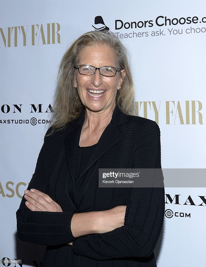Photographer <a gi-track='captionPersonalityLinkClicked' href=/galleries/search?phrase=Annie+Leibovitz&family=editorial&specificpeople=549168 ng-click='$event.stopPropagation()'>Annie Leibovitz</a> attends the <a gi-track='captionPersonalityLinkClicked' href=/galleries/search?phrase=Annie+Leibovitz&family=editorial&specificpeople=549168 ng-click='$event.stopPropagation()'>Annie Leibovitz</a> Book Launch presented by Vanity Fair, Leon Max and Benedikt Taschen during Vanity Fair Campaign Hollywood at Chateau Marmont on February 26, 2014 in Los Angeles, California.