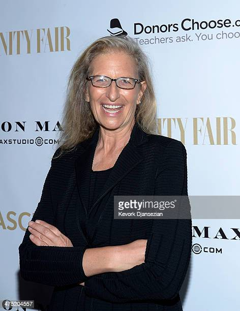 Photographer Annie Leibovitz attends the Annie Leibovitz Book Launch presented by Vanity Fair Leon Max and Benedikt Taschen during Vanity Fair...