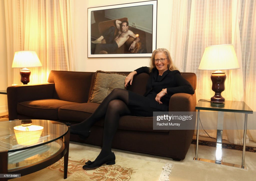 Photographer <a gi-track='captionPersonalityLinkClicked' href=/galleries/search?phrase=Annie+Leibovitz&family=editorial&specificpeople=549168 ng-click='$event.stopPropagation()'>Annie Leibovitz</a> attends The <a gi-track='captionPersonalityLinkClicked' href=/galleries/search?phrase=Annie+Leibovitz&family=editorial&specificpeople=549168 ng-click='$event.stopPropagation()'>Annie Leibovitz</a> SUMO-Size Book Launch presented by Vanity Fair, Leon Max and Benedikt Taschen during Vanity Fair Campaign Hollywood at Chateau Marmont on February 26, 2014 in Los Angeles, California.