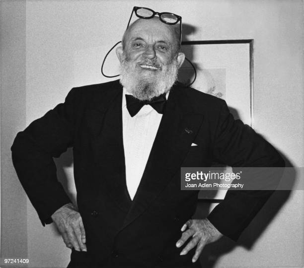 Photographer Ansel Adams attends a Wilderness Society dinner in his honor celebrating the first West Coast exhibition of his polaroid pictures on May...