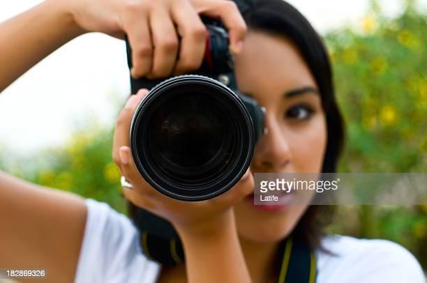 Photographer at shoot