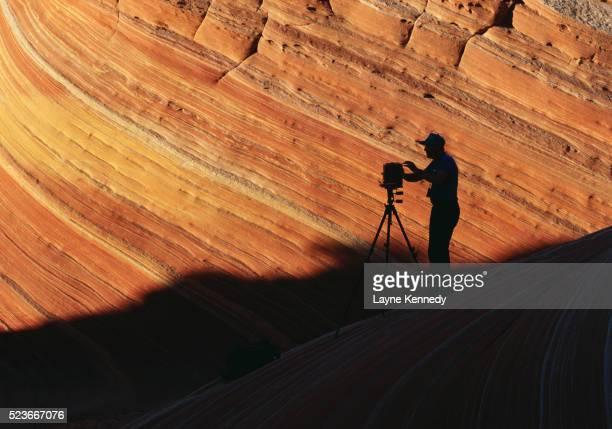 Photographer at Vermilion Cliffs