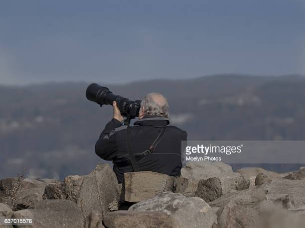 Photographer at Work-State Line Lookout
