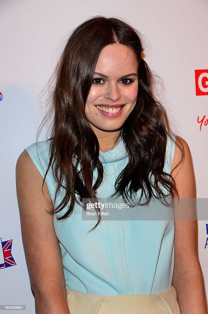 Photographer Atlanta de Cadenet Taylor attends The Big British Invite launch at 78 Mercer Street on March 21, 2013 in New York City.